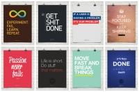 Startupvitamins.com - Motivations-Poster für Ihr Startup-Unternehmen