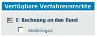 E-Rechnung an den Bund ab Jahresbeginn verpflichtend