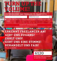Freelancer Movement - Manifest unterzeichnen