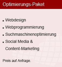 Optimierungs-Paket