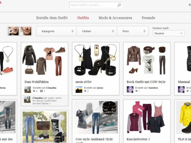 outfit erstellen online